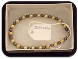 Sterling Silver Bracelet with Beads