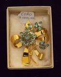 Vintage Coro Sterling Silver Brooch