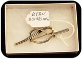 Vintage Beau Sterling Silver Brooch
