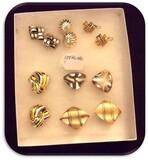 Tray Lot of Sterling Silver Earrings