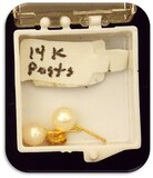 Earring Set with 14K Gold Posts
