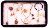 Lot of Necklaces, Earrings, Bracelets, and Brooches including Lucite