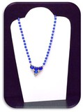 Vintage Necklace & Earring set w/ Clear Aurora Borealis
