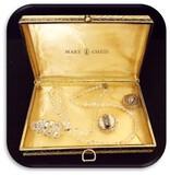 Vintage Necklace & Earring set in Original Box