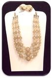 Vintage Laguna Necklace & Earring set w/ Aurora Borealis Crystal