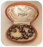Vintage Van Dell Necklace & Earring Set in Original Box