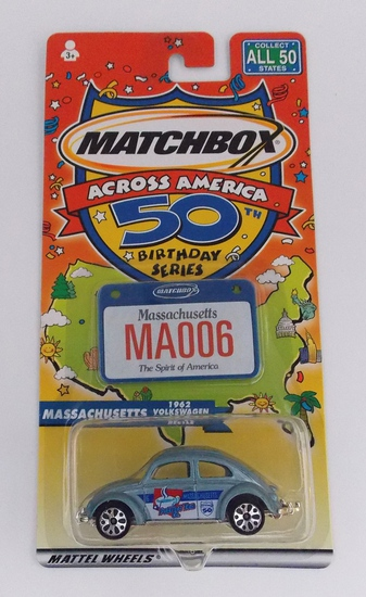 Matchbox Across America Massachusetts 50th Anniversary Die Cast Vehicle