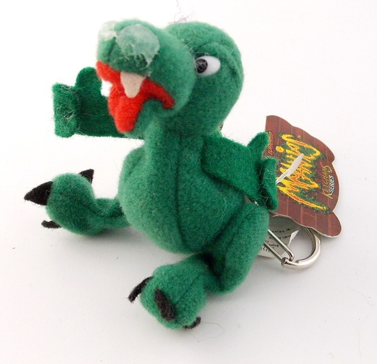 Meanie Beanies Boris The Mucousaurus Keychain
