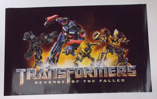 Transformers: Revenge of the Fallen Movie Promo Poster