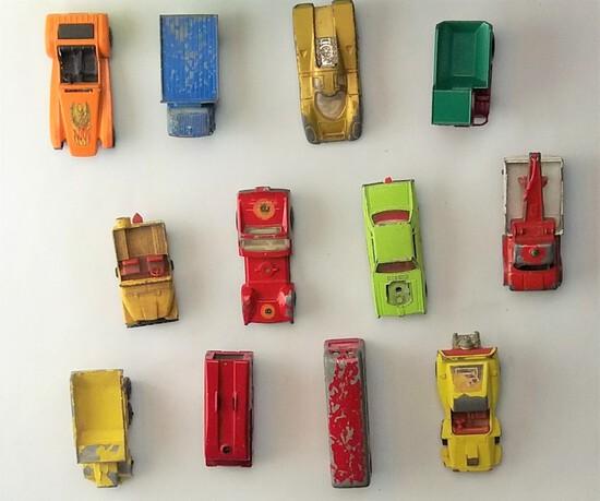 Vintage Lot of Lesney Die Cast Cars