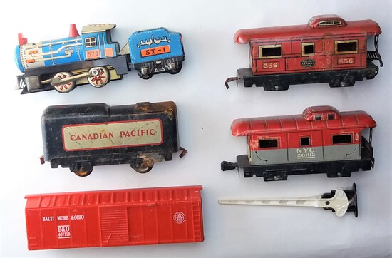 Toy Train Assorted Lot