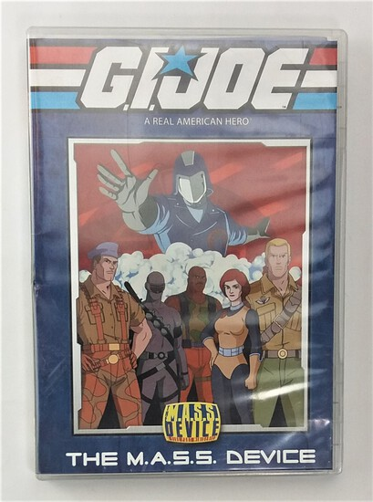 "GI Joe ""The M.A.S.S. Device"" Cartoon DVD"