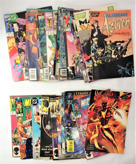 Grouping of '80s -'90s Marvel & DC Comics