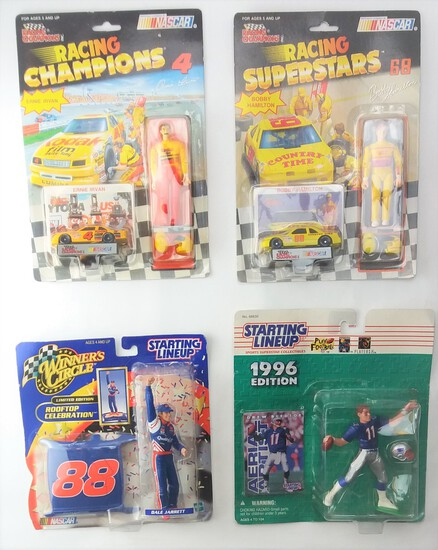 Collectible Action Figure & Diecast Carded Toy Lot
