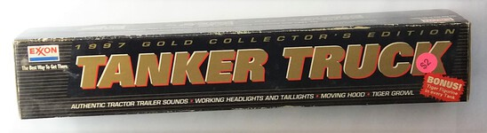 1997 Exxon Gold Collector's Edition Tranker Truck Collectible Truck