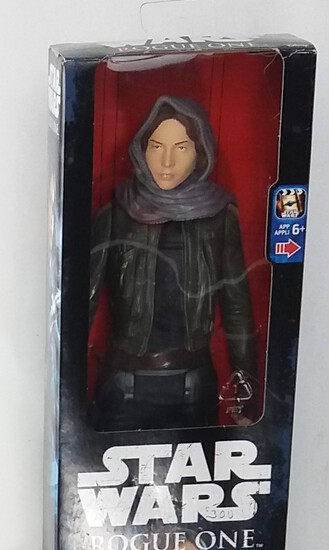 "Star Wars Black Series Sergeant Jyn Erso (Jedha) Rogue One 12"" Action Figure"