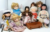 Assorted Collectible Doll Lot