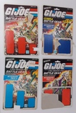 Lot of Vintage Partial GI Joe Card Backs