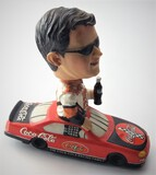 Coca-Cola Tony Stewart Ceramic Collectible Ceramic Bobble Head Nodder