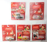 Johnny Lightning 1/64 Scale Christmas Coca Cola Diecast Car Set