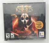 Star Wars Knights of the Old Republic II The Sith Lords 4 CD PC Game in Case