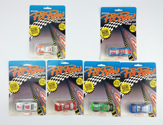 Official Pit Row Stock Car Diecast Car Grouping