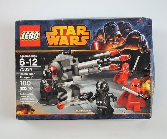 Star Wars Lego 75034 Death Star Troopers 100 Piece Building Block Set