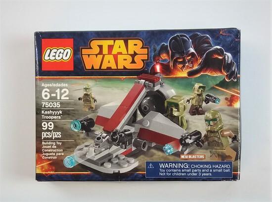 Star Wars Lego 75035 Kashyyyk Troopers 99 Piece Building Block Set