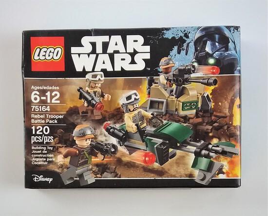 Star Wars Lego 75164 Rebel Trooper Battle Pack 120 Piece Building Block Set