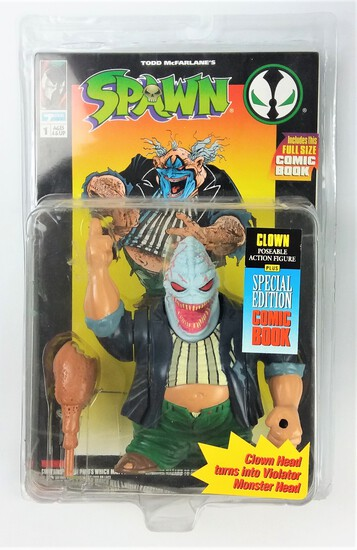 Spawn Clown Todd Toys Deluxe Edition Ultra Action Figure