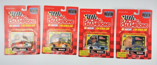 1996 Preview Edition Series Racing Champions NASCAR Stock Car Diecast Car Lot