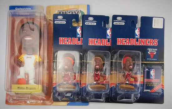 Collectible Sports Bobblehead Packaged Lot