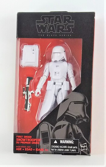 Star Wars Black Series First Order Snowtrooper 1:12 Scale Figure