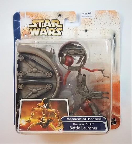 Star Wars Clone Wars Destroyer Droid Battle Launcher Action Figure