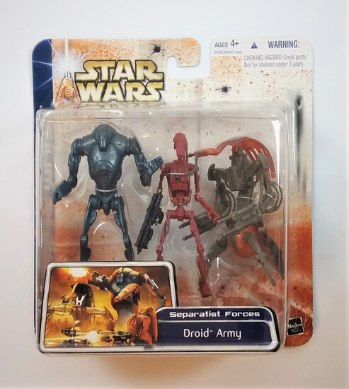 Star Wars Clone Wars Droid Army 3 Action Figure Set