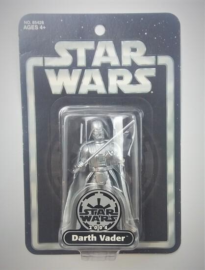 Darth Vader 2004 Silver Edition Exclusive Star Wars Action Figure
