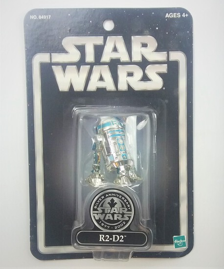R2-D2 2002 Silver Edition Exclusive Star Wars Action Figure