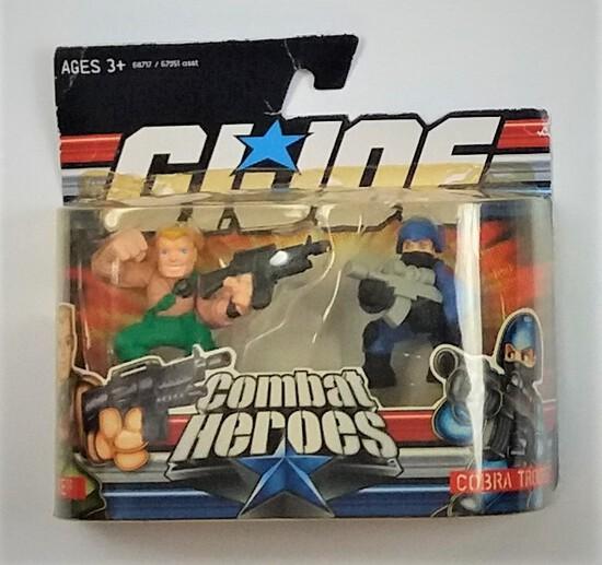 GI Joe Combat Heroes Duke / Cobra Trooper Action Figure 2 Pack