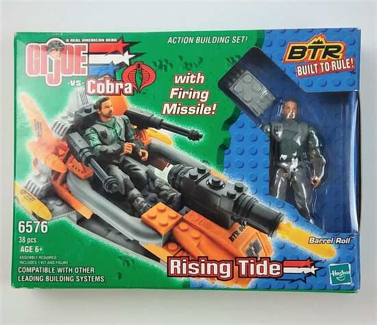 Rising Tide BTR 6576 Built to Rule Buildable GI Joe Action Figure & Vehicle