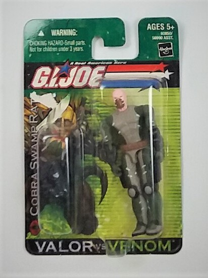 Cobra Swamp Rat Dollar General Exclusive G.I. Joe Valor Vs Venom Action Figure