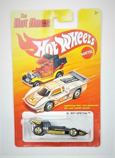 2011 El Rey Black Hot Wheels The Hot Ones Collectible Diecast Car