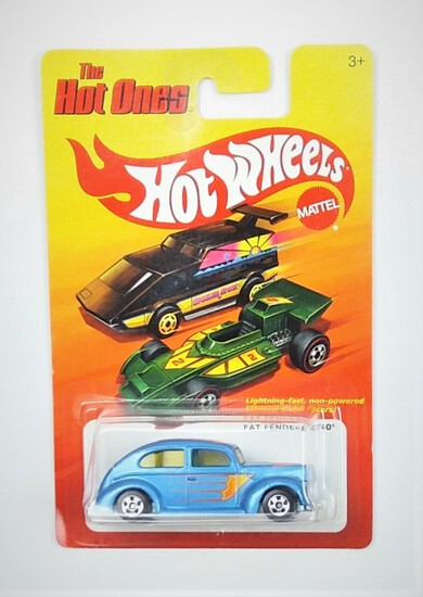 2011 Fat Fendered '40 Hot Wheels The Hot Ones Collectible Diecast Car