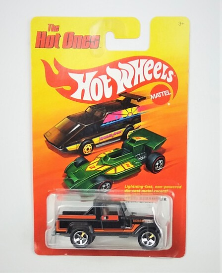 2011 Jeep Scrambler Hot Wheels The Hot Ones Collectible Diecast Car