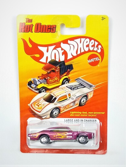 2011 Large And In Charger Hot Wheels The Hot Ones Collectible Diecast Car