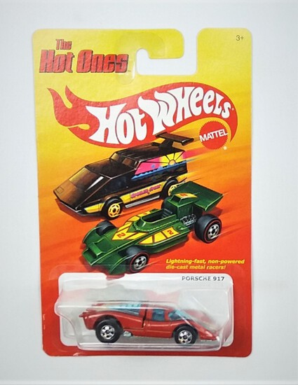 2011 Porsche 917 Red Hot Wheels The Hot Ones Collectible Diecast Car