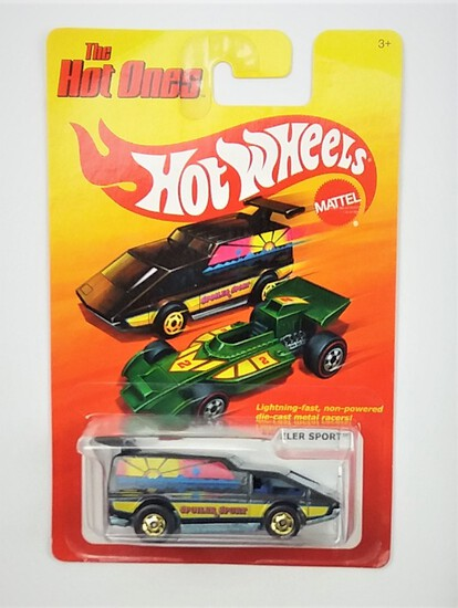 2011 Spoiler Sport Black Hot Wheels The Hot Ones Collectible Diecast Car