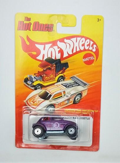 2011 Volkswagen Baja Beetle Purple Hot Wheels The Hot Ones Collectible Diecast Car