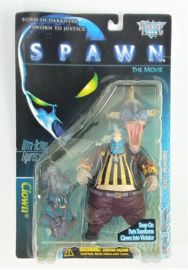 Spawn The Movie Clown McFarlane Toys Deluxe Edition Ultra Action Figure