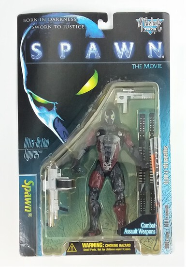 Spawn The Movie Spawn McFarlane Toys Deluxe Edition Ultra Action Figure