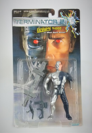 Terminator 2 Exploding T-1000 Action Figure MOSC
